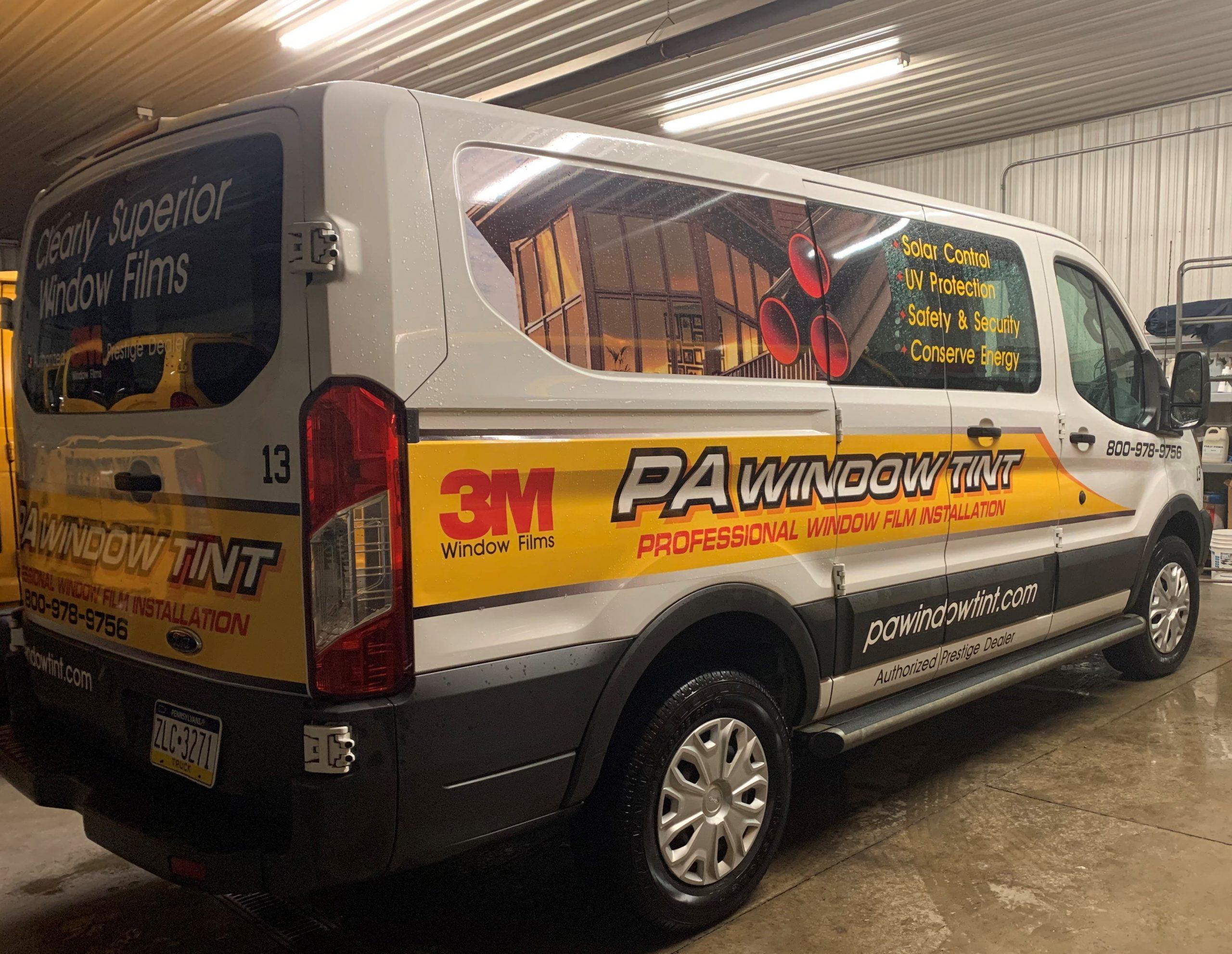 PA Window Tint van