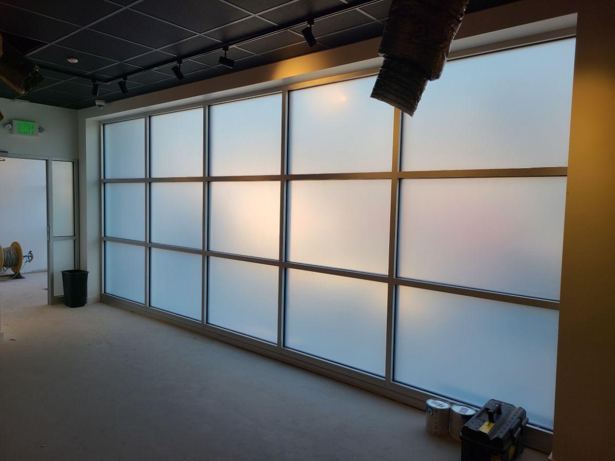 chamonix commercial window film installation