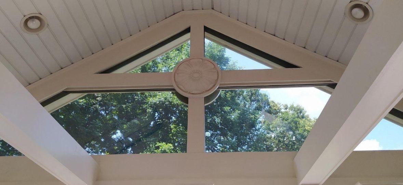 Night Vision Window Film installed on home window